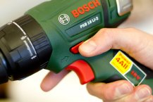 Bosch PSB 18 LI-2 Akkuschrauber Praxistest - Handhabung